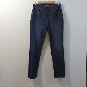 "NYDJ Leggings Dark Wash Size 8 30.5"" Inseam"
